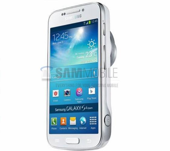 Samsung Galaxy S4 Zoom - гибрид смартфона и компактной фотокамеры