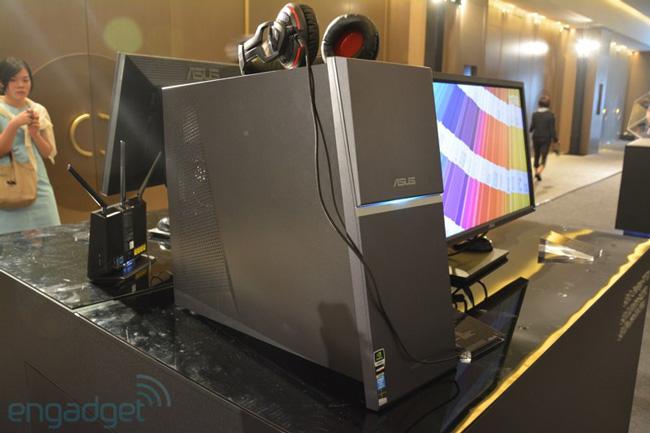 ASUS показала настольный компьютер со встроенным ИБП