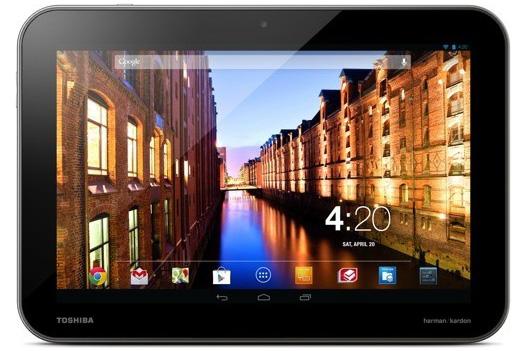 Toshiba выпустила три Android-планшета Excite