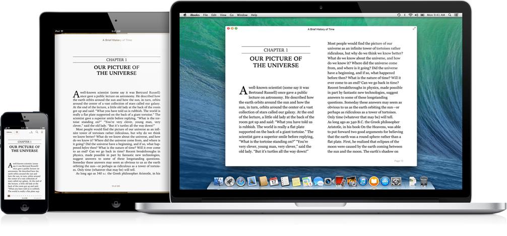 Книга для айфона формат ibooks