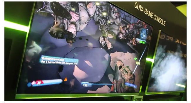 NVIDIA продемонстрировала возможности Grid, запустив игру Borderlands 2 на Android-консоли