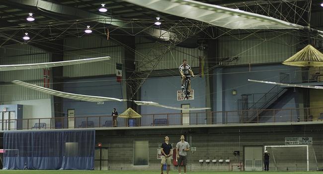 AeroVelo Atlas, вертолет на велотяге, завоевал приз Игоря Сикорского