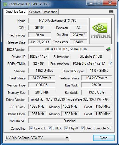 Gigabyte_GTX760_info