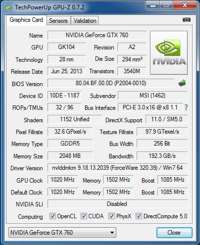 MSI_GTX760_info