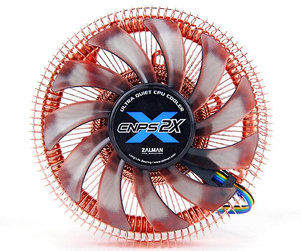 Zalman предлагает компактный процессорный кулер CNPS2X