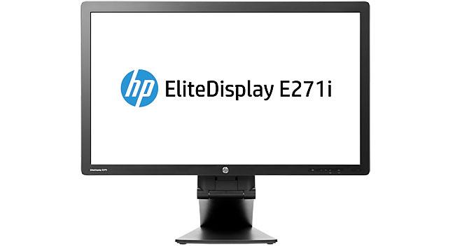 HP выпустила 27-дюймовый дисплей EliteDisplay E271i