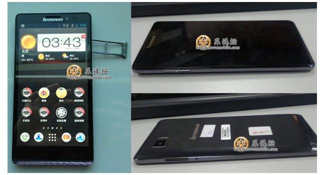 Lenovo разработала смартфон с процессором Snapdragon 800 и Full HD дисплеем