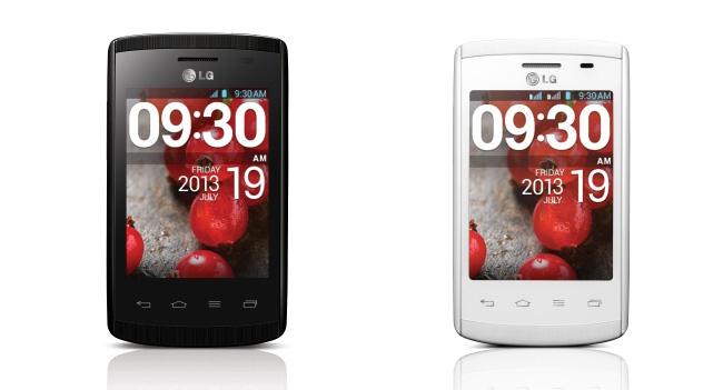 LG представляет в Украине смартфон Optimus L1II