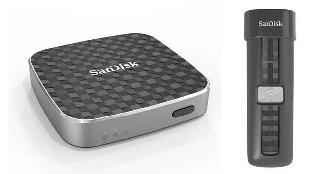 SanDisk Connect – серия беспроводных хранилищ данных для мобильных устройств