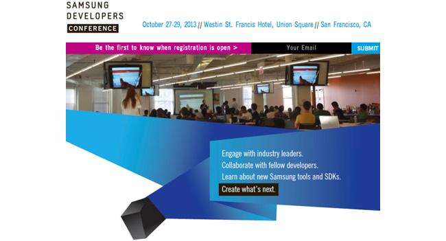 Samsung проведет собственную конференцию для разработчиков - Global Developer Conference