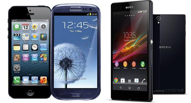 Мобільні телефони всіх відомих брендів