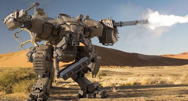 картинки роботы боевые