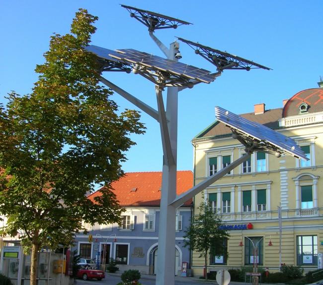 «Солнечное дерево – культурный и одновременно научный символ австрийского городка Глайсдорф