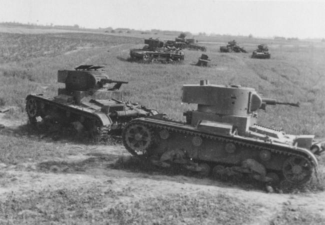 Советские радиоуправляемые танки т 26