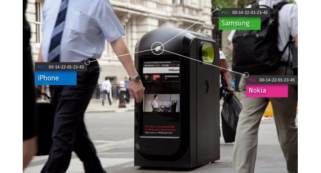Лондон отказывается от использования урн, отслеживающих активность прохожих