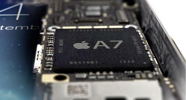 Чип Apple A7 сделан Samsung, а M7 — работа NXP