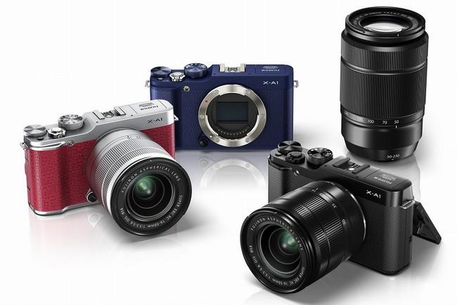 Fujifilm представляет в Украине системную камеру X-A1
