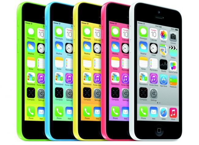 Apple iPhones 5C