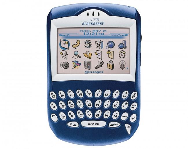 Модель BlackBerry 7210