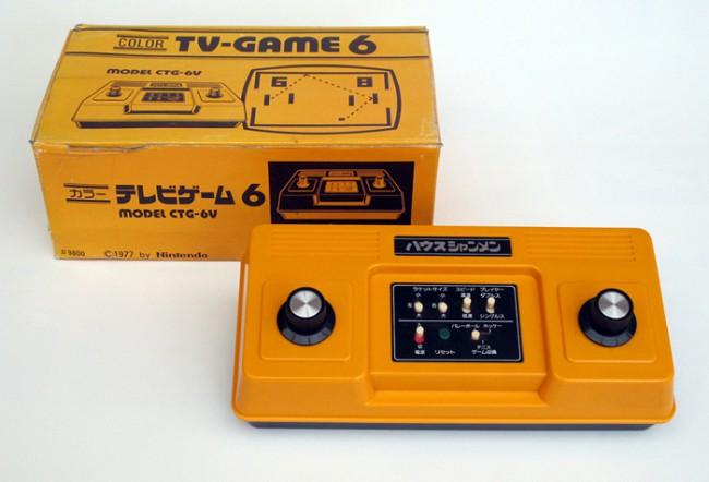 Игровая консоль Color TV Game 6 (1977 год)
