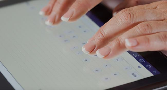 Dryft - автоматически подстраивающаяся под пользователя экранная клавиатура для планшетов