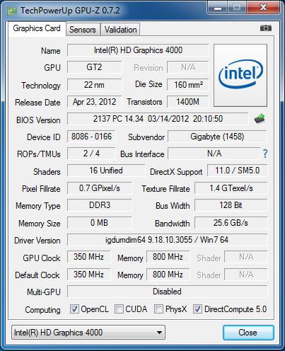 GIGABYTE_BRIX_GPU_z_info