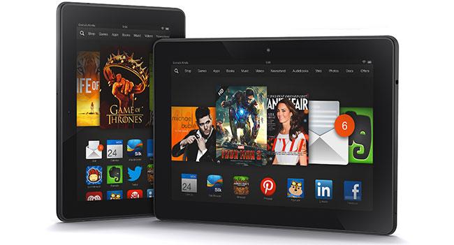 Amazon анонсировала планшеты Kindle Fire HDX
