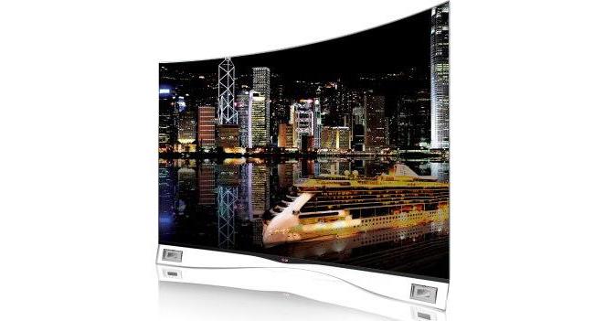 LG показала на IFA 2013 изогнутые OLED телевизоры