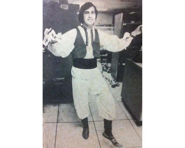 Танцующий Ричард Столлман (конец 1970-х)