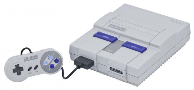 Приставка Super Nintendo (1990 год)