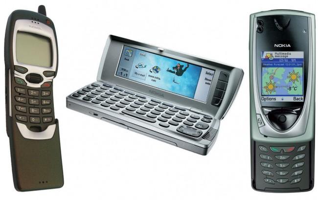 Смартфоны Nokia 6600, N73 и N95