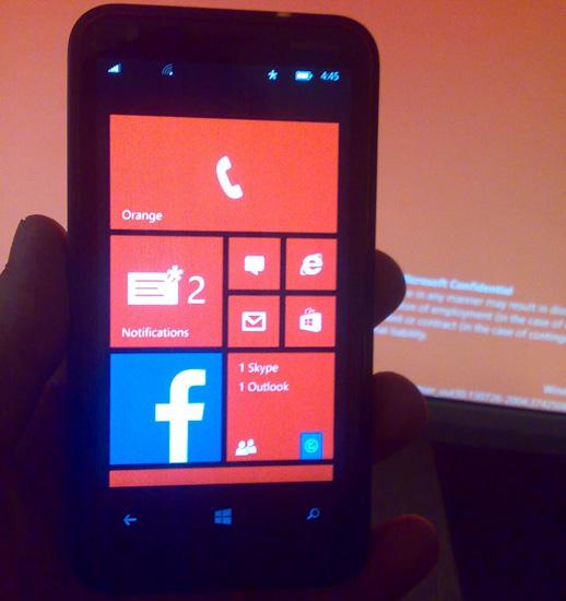 В Windows Phone 8.1 несколько изменится интерфейс
