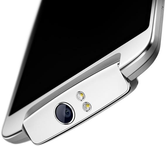 Oppo оснастила смартфон N1 вращающейся камерой