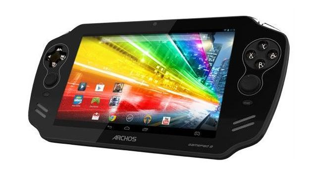 Archos работает над созданием игрового планшета GamePad 2