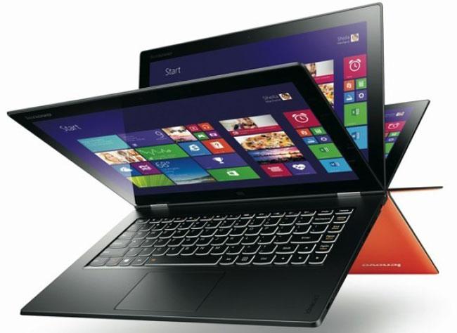 Lenovo показала ультрабук-трансформер Yoga 2 Pro