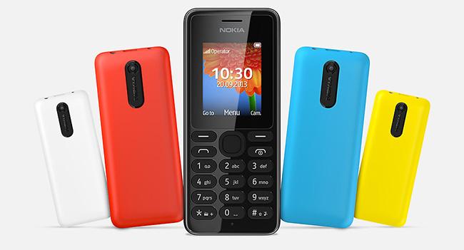 Nokia 108 - мобильный телефон по цене $29