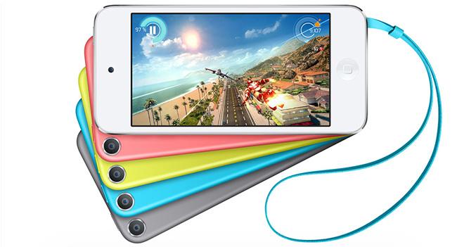 Apple изменила цветовую гамму портативных проигрывателей iPod