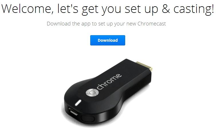 Handleiding google chromecast 2