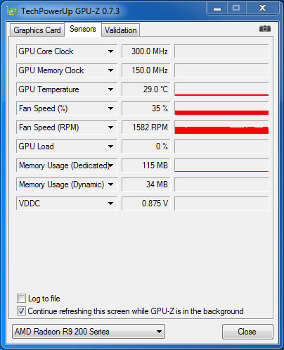 GIGABYTE_270X_GPU-Z_idle