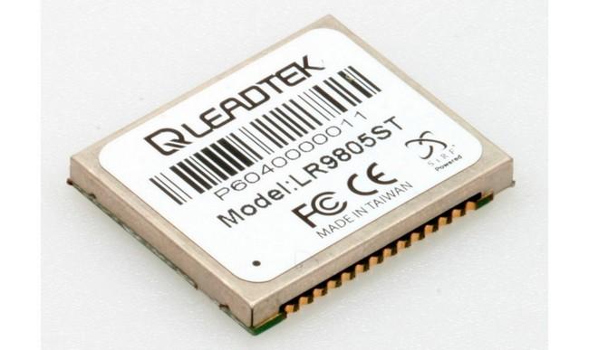 Навигационный чип производства компании Leadtek