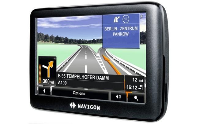Автомобильный навигатор NAVIGON 3300 Max