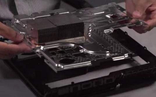 Sony предоставила видео, на котором запечатлен процесс разборки PlayStation 4