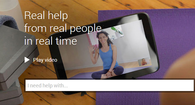 Google launched video tutorials Helpouts