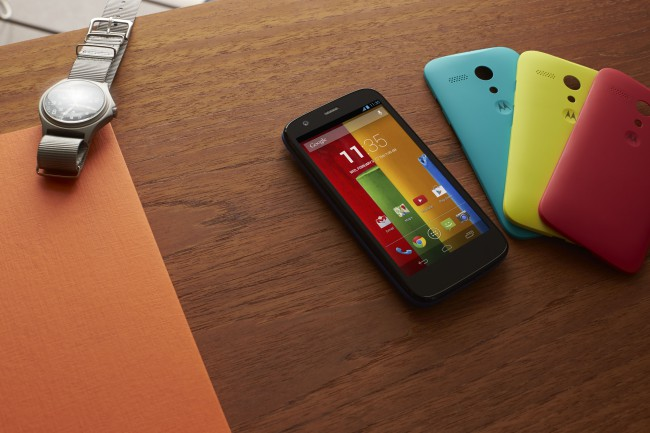 Motorola announced the Android-based smartphone Moto G  ...