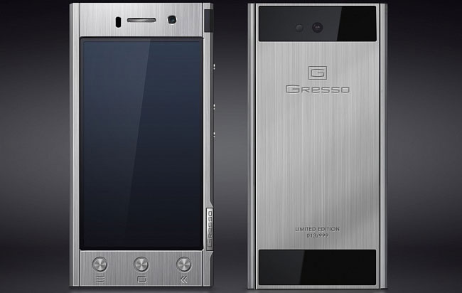 Gresso выпустила Android-смартфон в титановом корпусе по цене от $1800