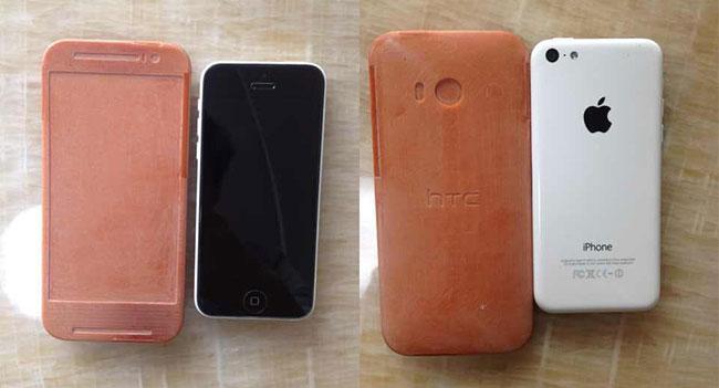 Появились изображения макета и характеристики смартфона HTC One 2