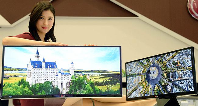 На выставке CES 2014 компания LG покажет ряд новых компьютерных мониторов