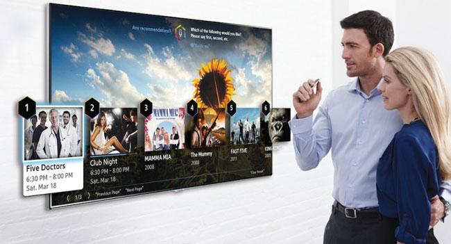 Samsung покажет на CES 2014 телевизоры с улучшенными функциями управления голосом и жестами