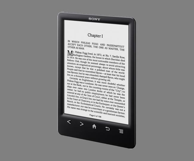 Обзор ридера Sony Reader PRS-T3