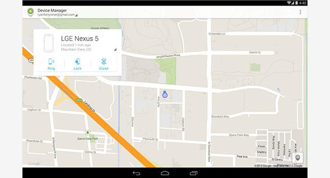 Google выпустила мобильное приложение для поиска потерянных Android-устройств